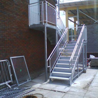 Fire Escape Staircases Nottingham