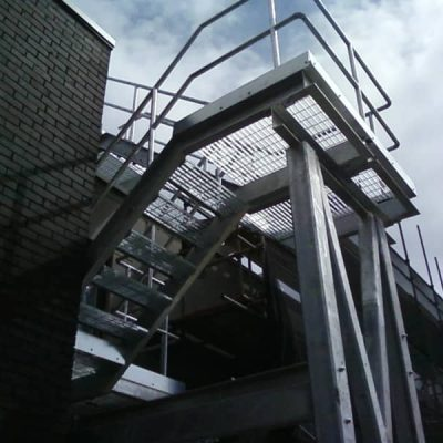 Fire Escape Staircases Manufacturers Nottingham Midlands
