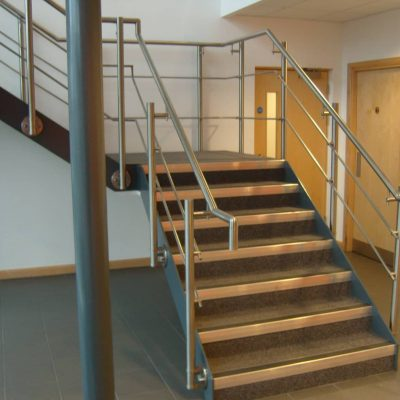 Custom Staircases Manufacturers for Offices & Buildings Nottingham Midlands